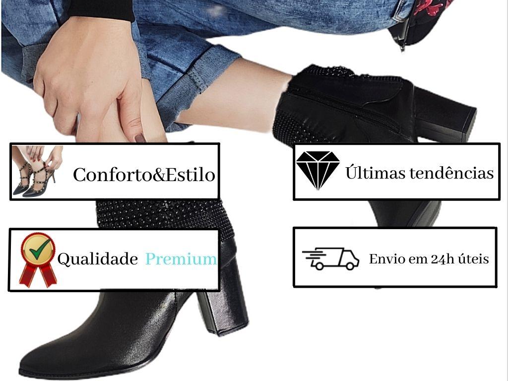 CALÇA FEMININA BENGALINE ENCERADA