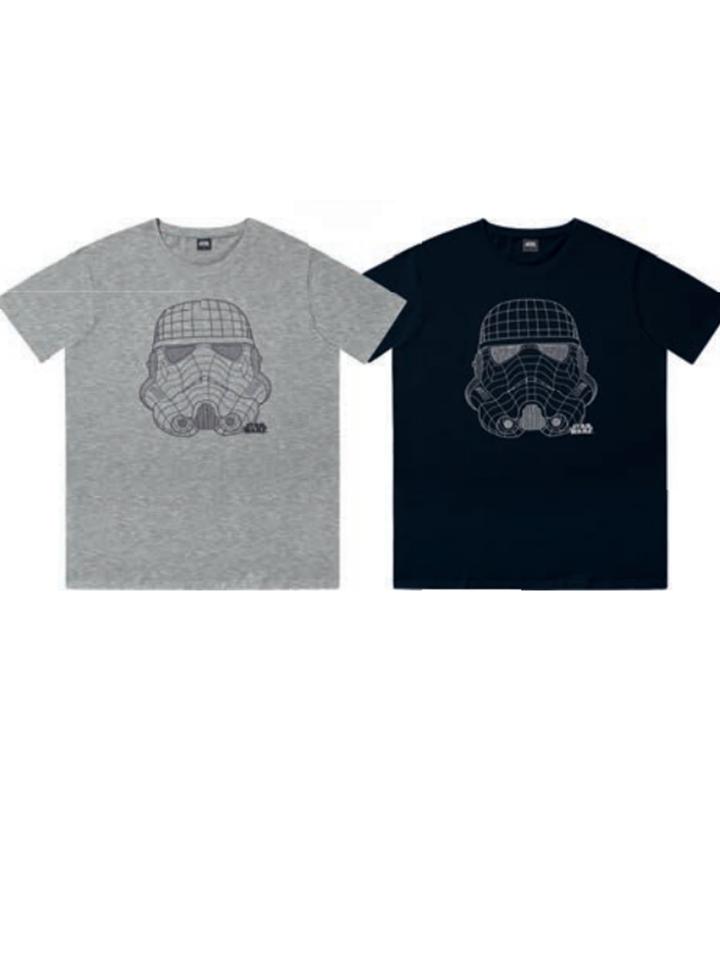 Camiseta Starwars perfil