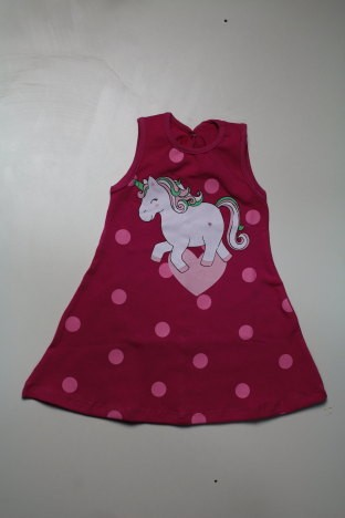 VESTIDO UNICORNIO COTTON