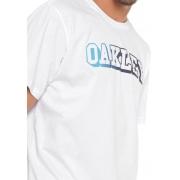 Camiseta Oakley Mod Gradient Letter Tee