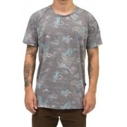 Camiseta Quiksilver Pocket Flower