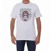 Camiseta Quiksilver Biker Skull