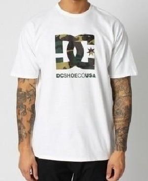 Camiseta DC Camo Fill