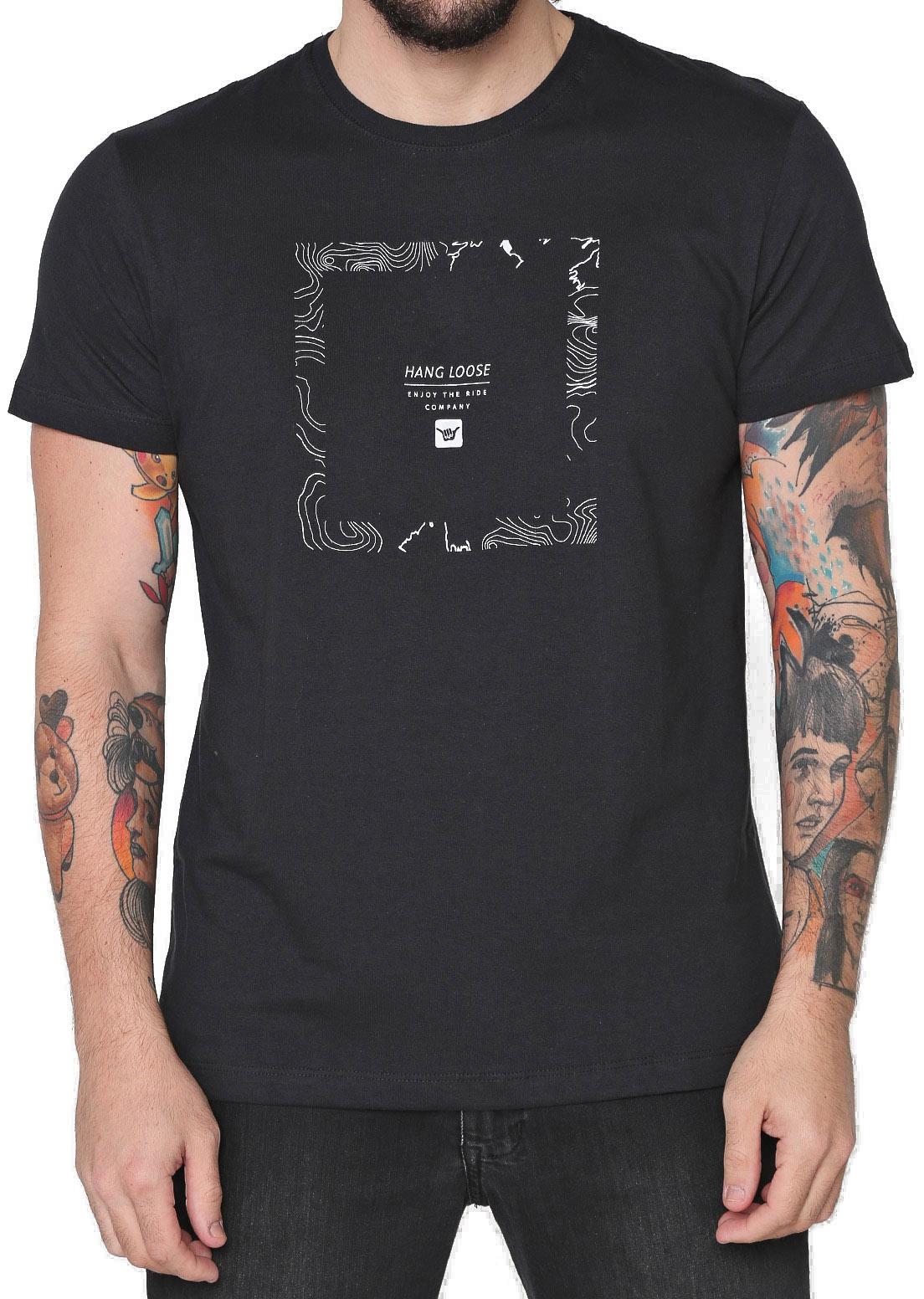 Camiseta Hang Loose Silk Squared