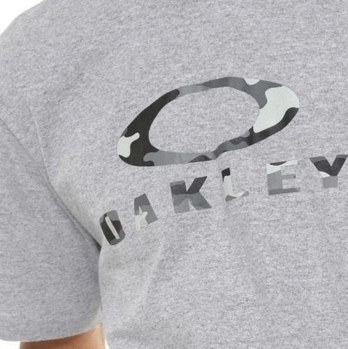 Camiseta Oakley O-bark SS Tee Tamanho Especial