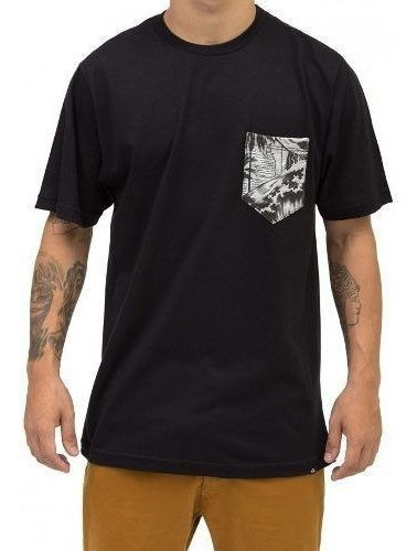 Camiseta Quiksilver Pocket Ocean
