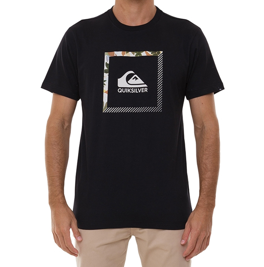 Camiseta Quiksilver Slab The Square