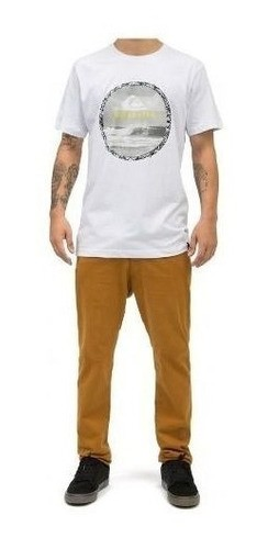 Camiseta Quiksilver Slim Fit Photog