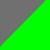 Cinza/Verde-neon