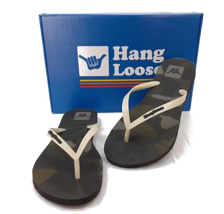 Sandália Chinelo Hang Loose Camo HL0010