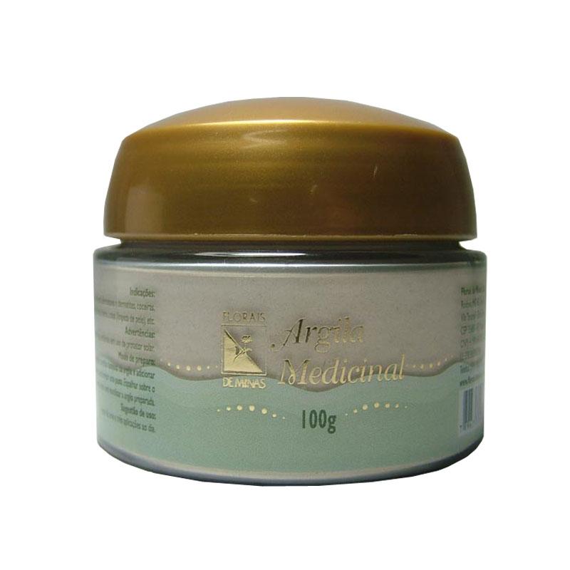 Argila Medicinal - Pote 100 g
