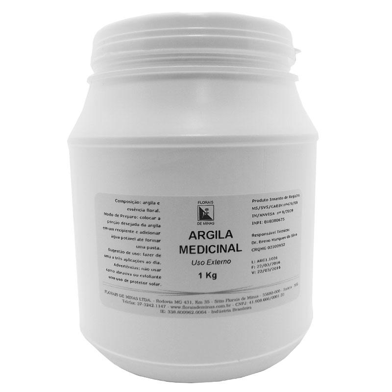 Argila Medicinal - Pote 1 kg