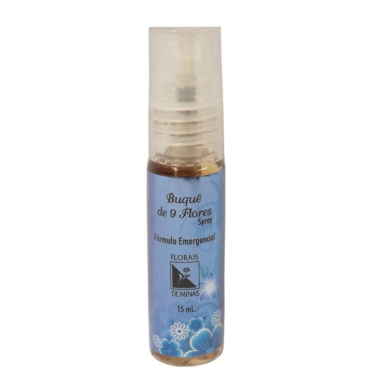 Buquê de 9 Flores Spray - Volume: 15 mL