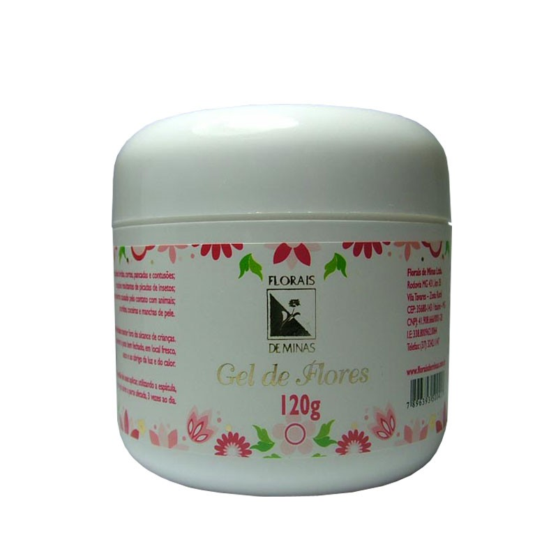 Gel de Flores - Pote 120 g