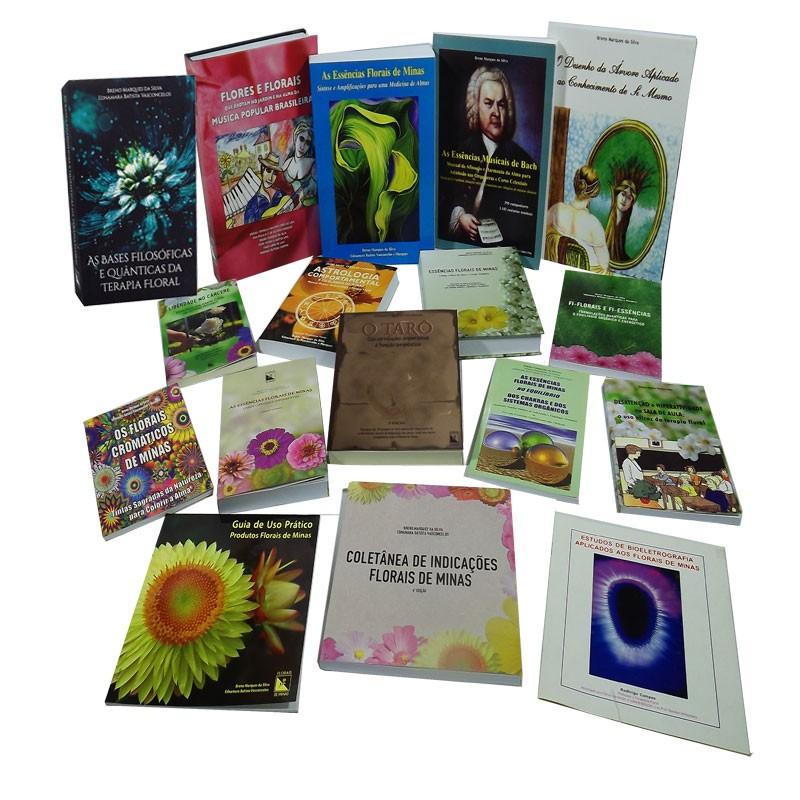 Kit Acervo Florais de Minas - 17 Livros