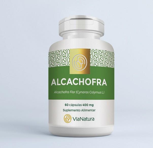 Alcachofra - 60 Cápsulas - 500mg