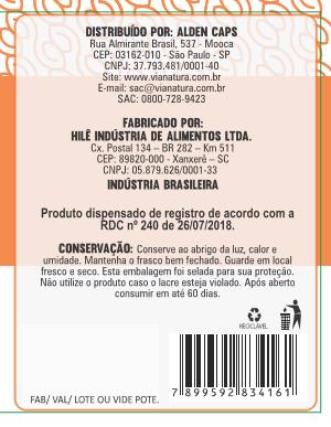 Vitamina C com Zinco e Cobre  - 60 Cápsulas - 500mg
