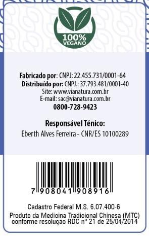Ginkgo Biloba com Ginseng - 60 Cápsulas - 500mg