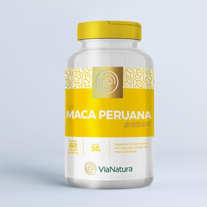 Maca Peruana - 60 Cápsulas - 500mg