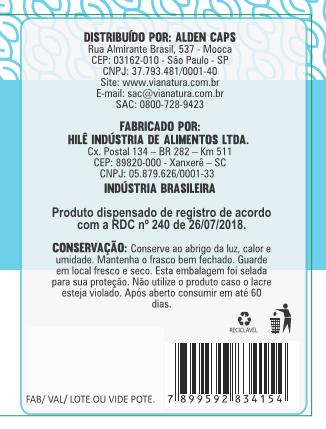 Vitamina E - 60 Cápsulas - 500mg