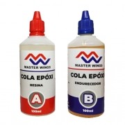 Cola Epoxi 2 Componentes Kit Endurecedor 100g + Resina 100g