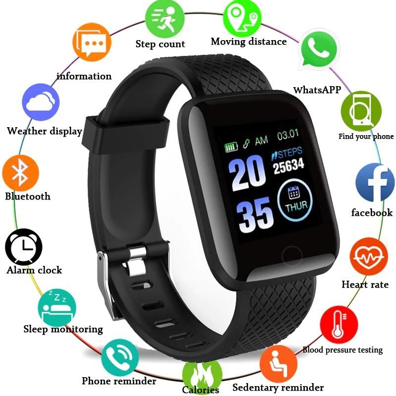 Relógio Smart-Watch do Esportista Yikaze