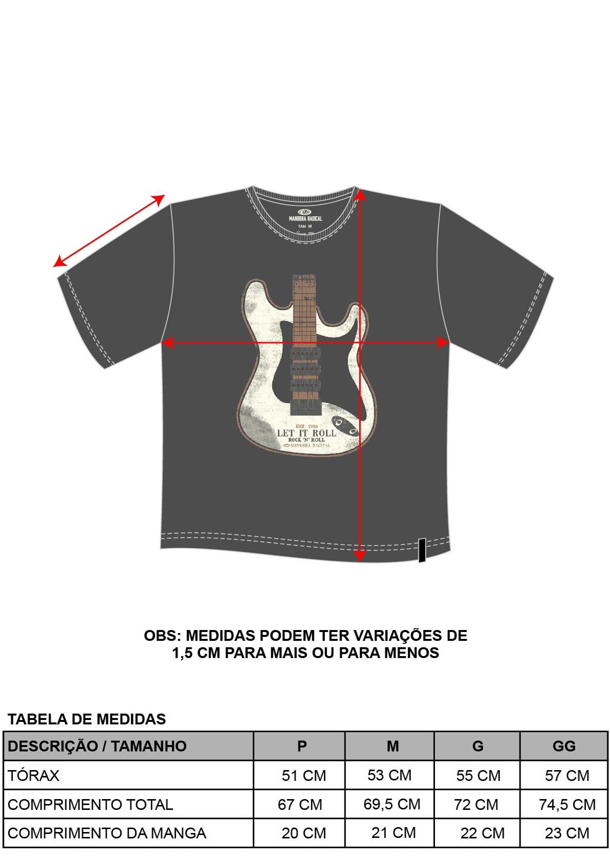Camiseta Eletric Guitar