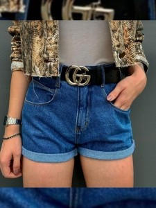Short Jeans Maluky Simples UM442059