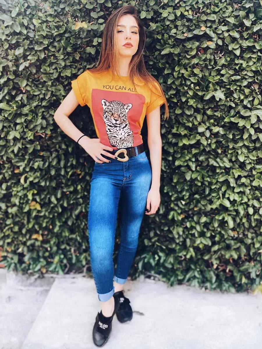 Calça Jeans Midd Escuro UM392059