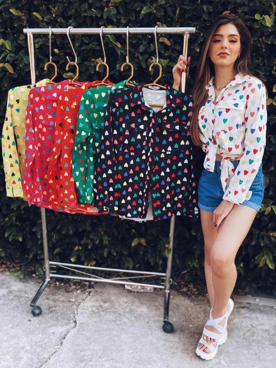 Camisa Heart Mona M5611 UM692099