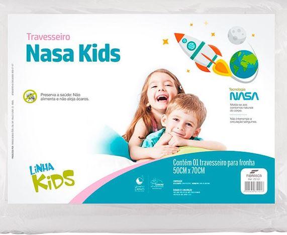Travesseiros Nasa kids Fibrasca