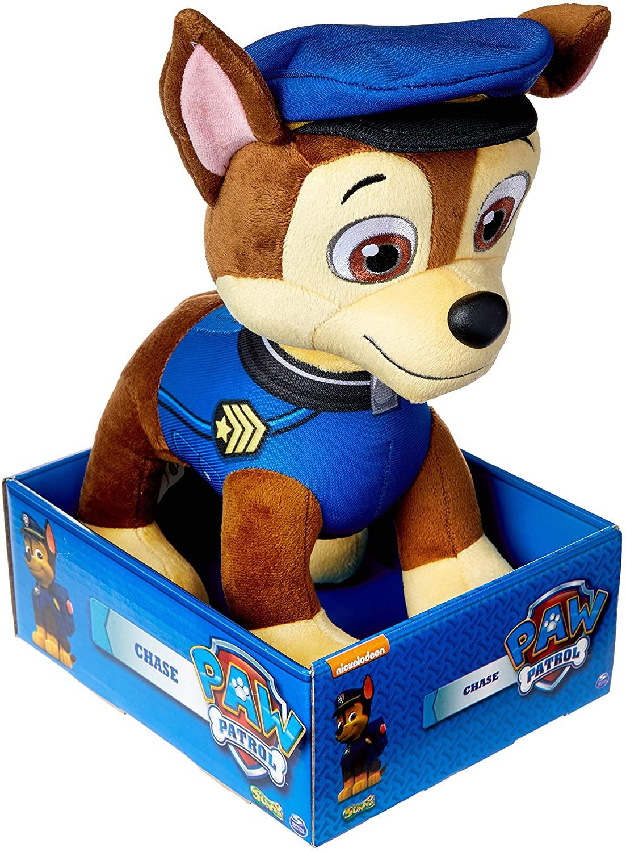 Boneco Pelúcia Patrulha Canina, Chase - SUNNY