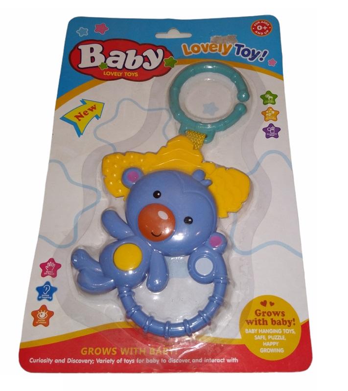 Chocalho Monkey  Bee Toys