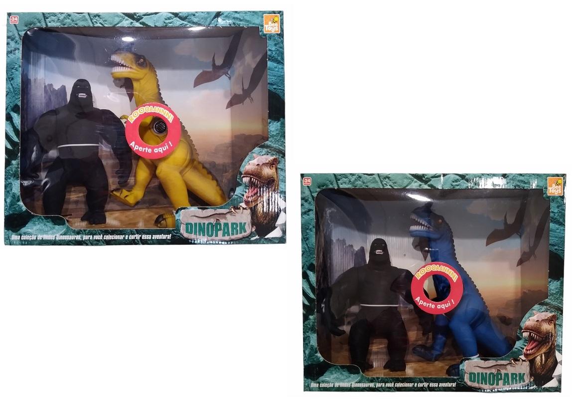 Coleção Dino No Park Grande - Bee Toys