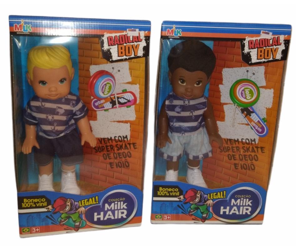 Coleção Milk Hair Radical Boy
