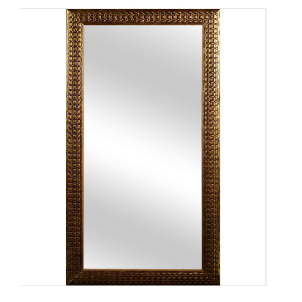 Espelho Retangular com Moldura 45X1000