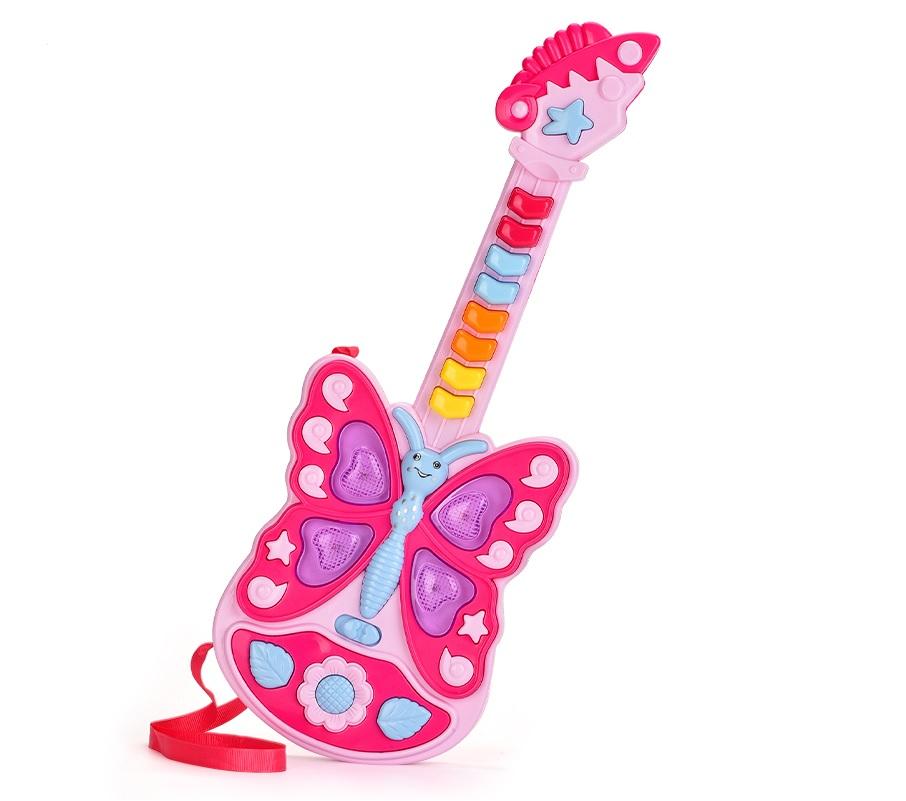 Guitarra infantil Borboleta  Nafeng