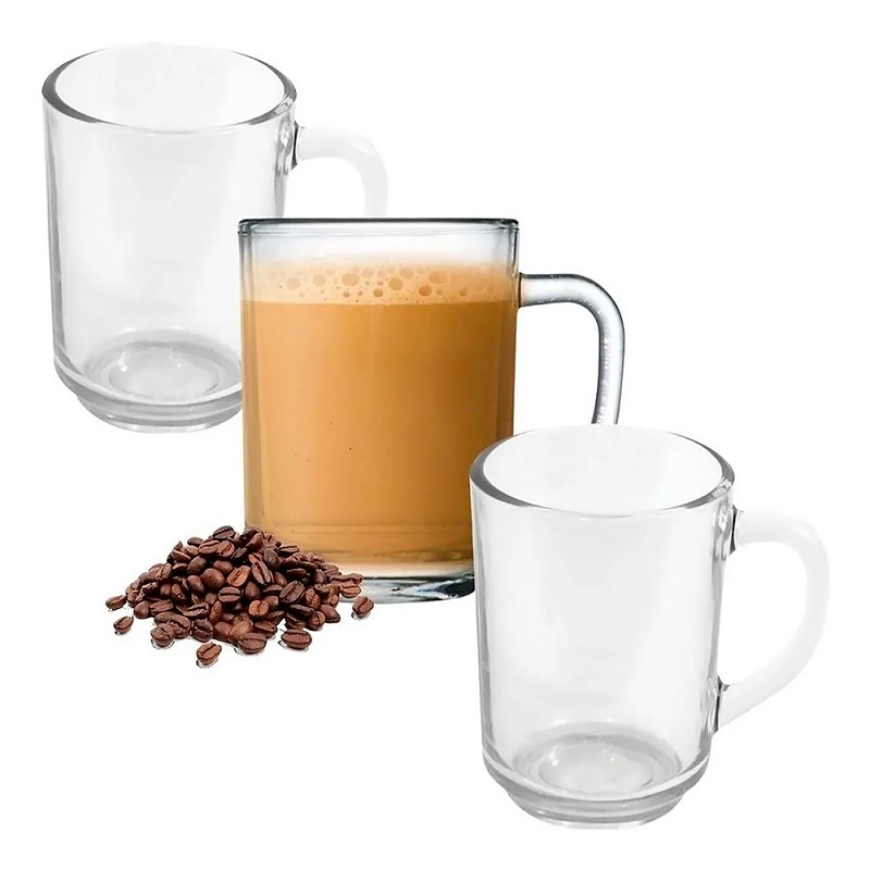 JOGO COM 3 CANECAS NEW COFFEE - RIO TIJUCAS