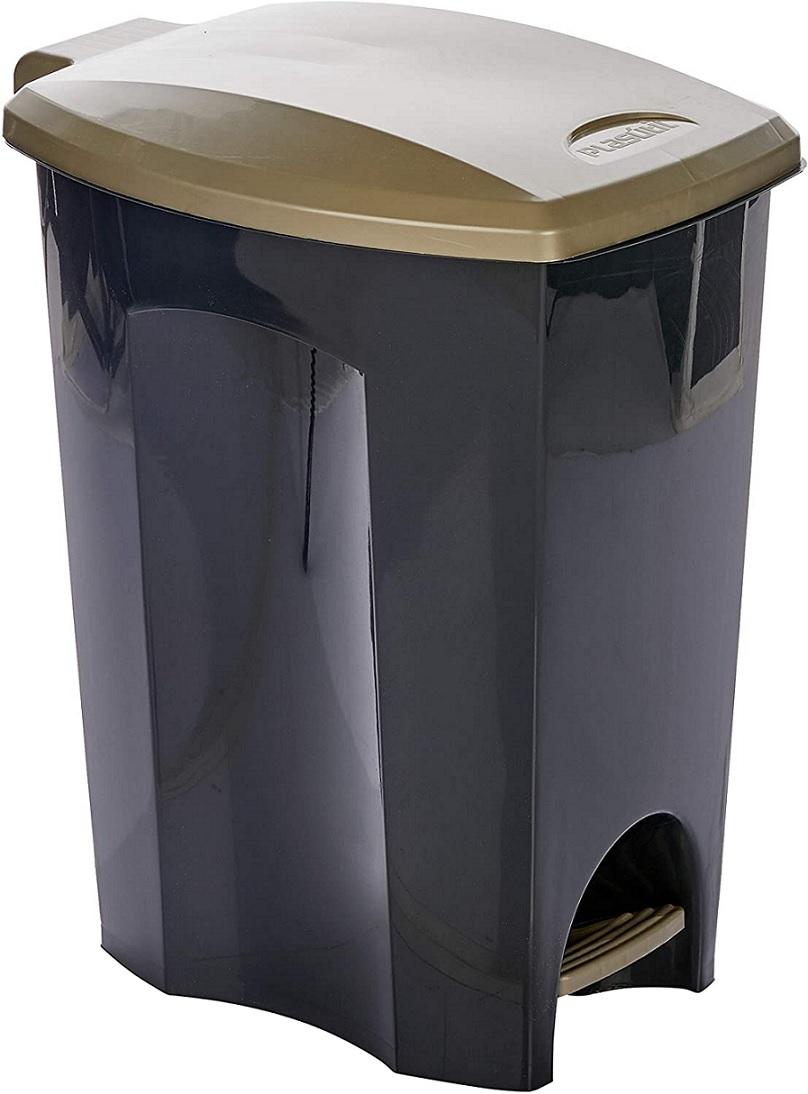 LIXEIRA COM PEDAL 50 litros - PLASÚTIL