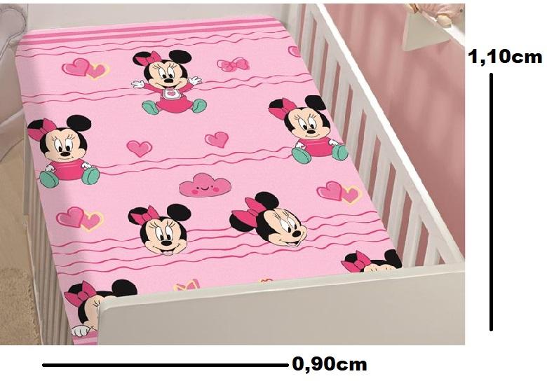 Manta de Microfibra Bebê Soft Disney MINNIE Jolitex (ROSA)