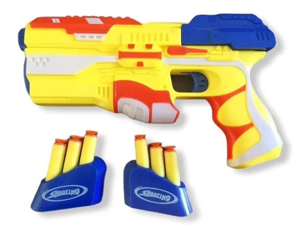 Nerf Pistola Lança Dardos