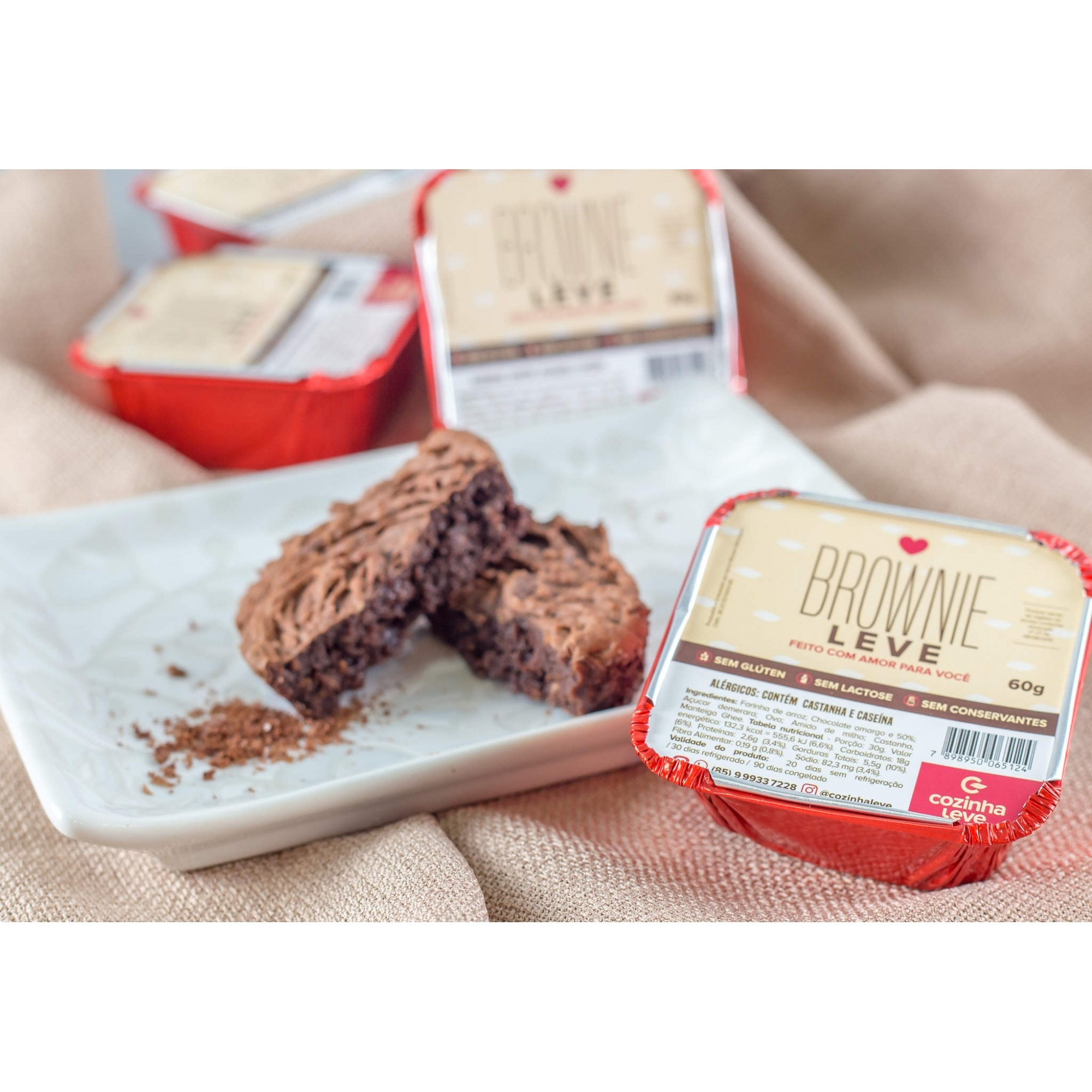 05 Brownies Leves (Kit Promocional)