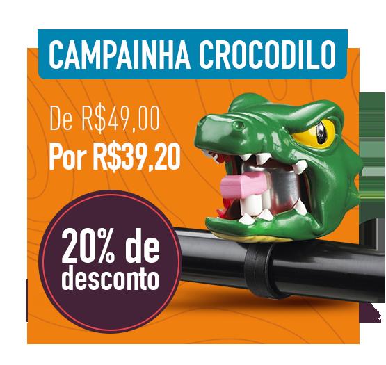 campainha crocodilo