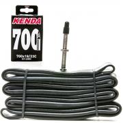 CAMARA DE AR KENDA 700X18/23C, PRESTA 48MM, R/V (59645)