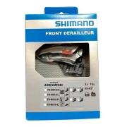 CAMBIO DIANTEIRO SHIMANO DEORE FD-M618 DUPLO E-TYPE T SWING DOWNPULL (1050015)