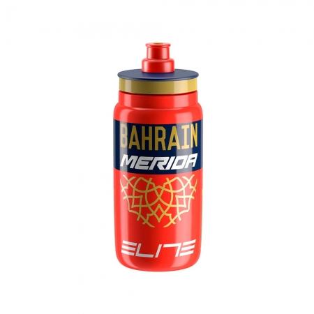 GARRAFA ELITE/SHIMANO PLASTICO FLY 550ML BAHRAIN-MERIDA 2019 (1010487)