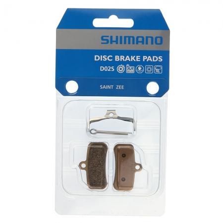 PASTILHA DE FREIO SHIMANO D02S METAL SAINT BR-M810 C/MOLA (1261210)