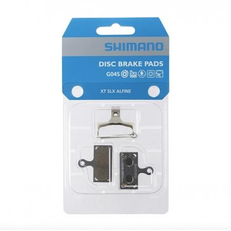 PASTILHA DE FREIO SHIMANO G04S METAL PARA XT M8000 (1260168)