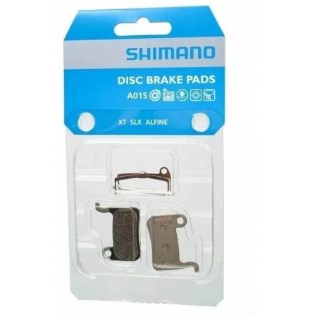 PASTILHA DE FREIO SHIMANO RESINA A01S XT BR-M775 C/MOLA (1261212)