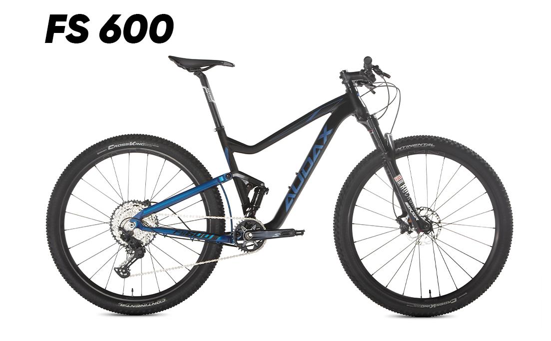 BICICLETA MTB AUDAX FULL SUSPENSION FS600 2021 SLX ARO-29 TAM 18 (FA60981)